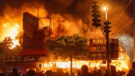 3 Charged in Arson at Minnesota Store During Rioting