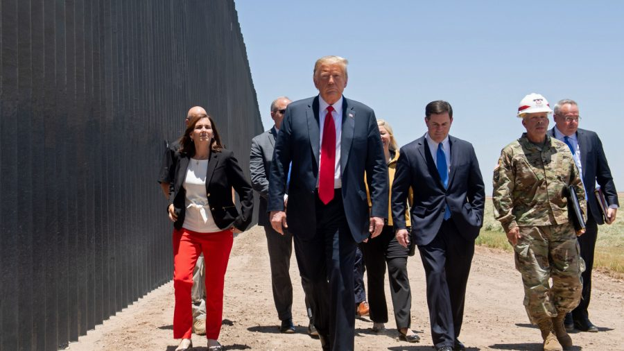Trump's Use of Military Funds for US-Mexico Border Wall Illegal, Federal Court Rules