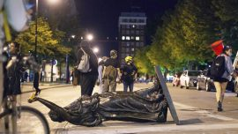 Wisconsin Governor Activates National Guard After Violence, Toppling of Statues