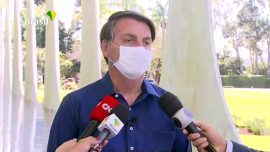 Brazil's President Announces He Tested Positive for COVID-19