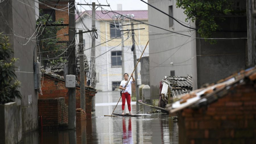 China's Wuhan & 3 provinces declare red alert amid worst floods in decades