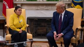 Trump Meets With Family of Slain Fort Hood Soldier Vanessa Guillen, Offers to Pay for Funeral