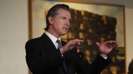 California Governor Orders Near-Statewide Curfew