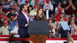 Kimberly Guilfoyle, Girlfriend of Trump's Son, Tests Positive for CCP Virus