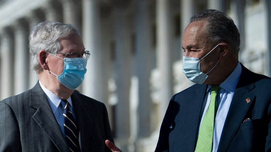 Schumer, McConnell Suggest No Deal in Sight Over Pandemic Relief