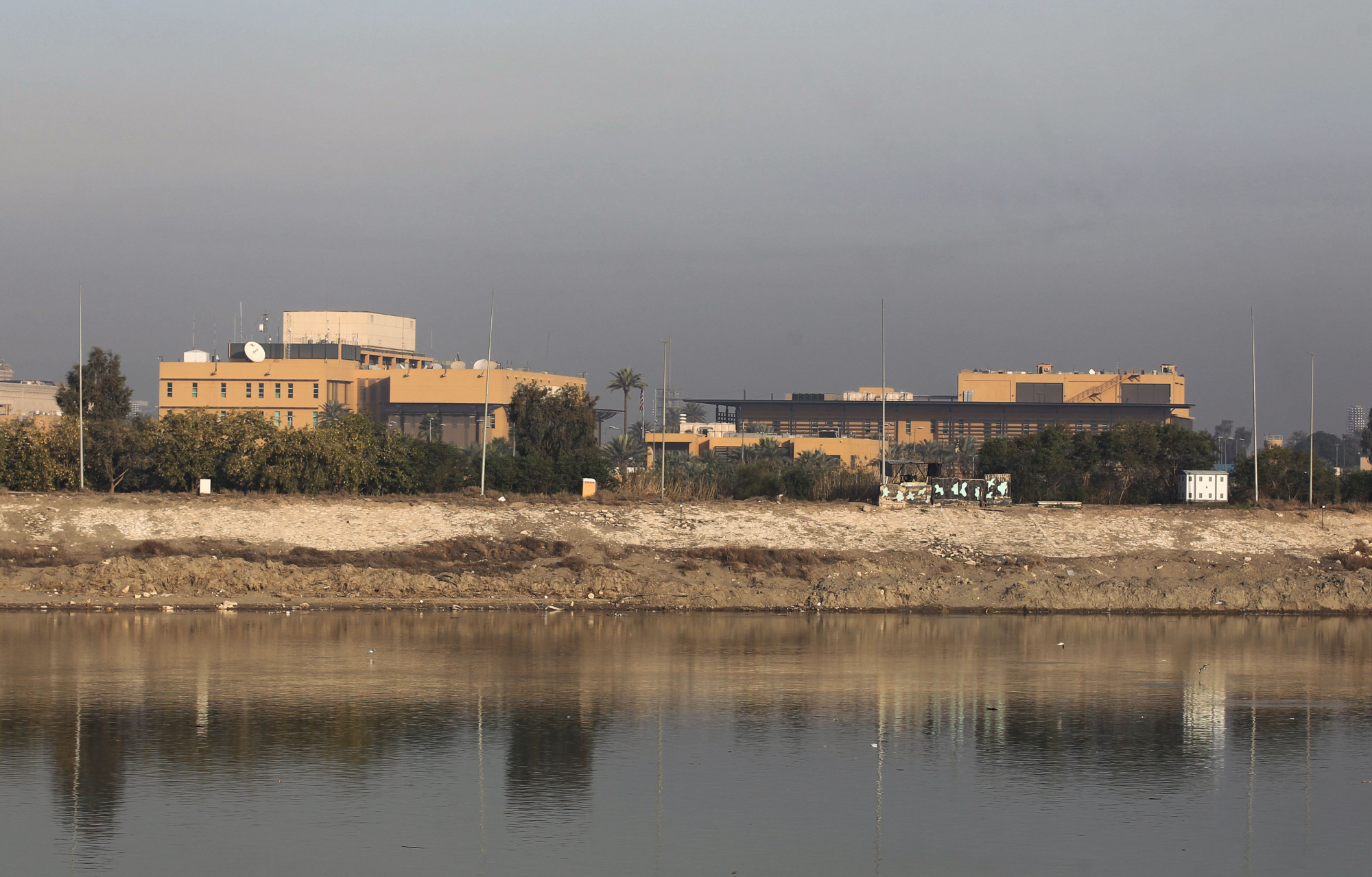 Rocket Fired Toward US Embassy in Iraq Injures Child