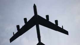 US Navy, B-52 In South China Sea Drills