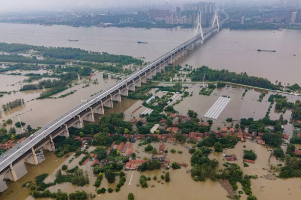 China's Yangtze River sees second flood of the year