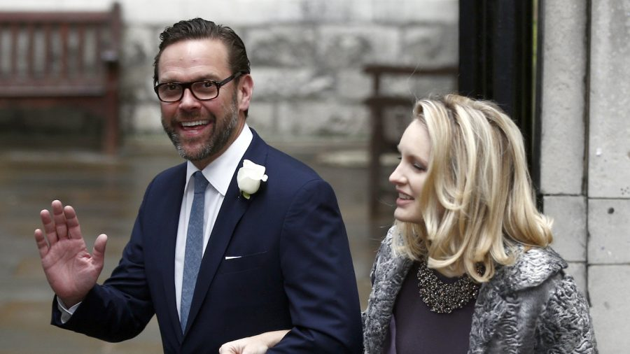 James Murdoch Resigns From News Publisher News Corp's Board