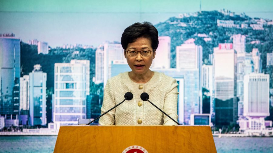Hong Kong Leader Refuses to Guarantee Press Freedom Under Beijing's National Security Law