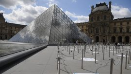 Louvre Museum Reopens in Paris