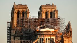 Notre Dame's Restorers Consult History