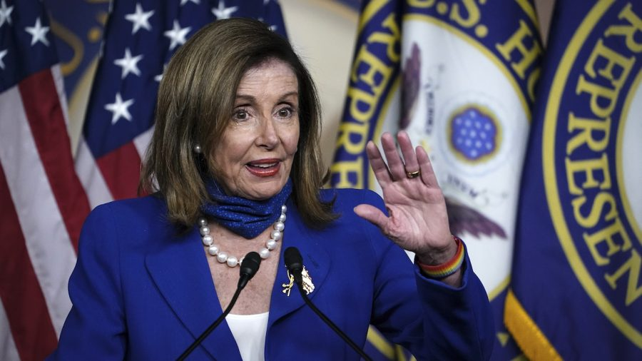 Pelosi Mandates Masks in House of Representatives