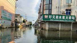 Strange Flooding in Southern China