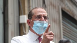 Health Secretary Azar Contrasts Taiwan and China's Pandemic Response During Taiwan Visit