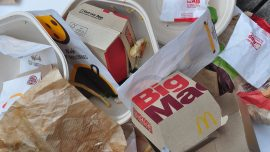 Toxic Chemicals May Be in Fast Food Wrappers, Take-Out Containers: Report