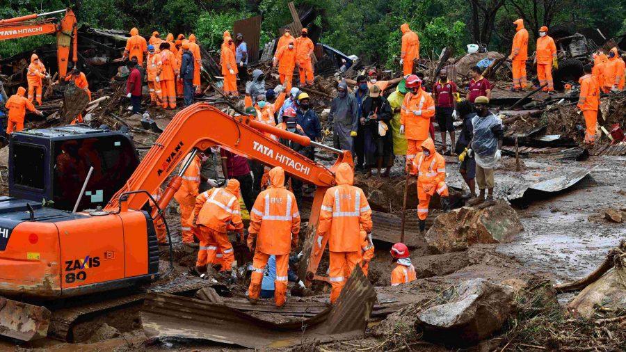 Monsoon Rains Trigger Tea Plantation Landslide in India, Killing at Least 43 People