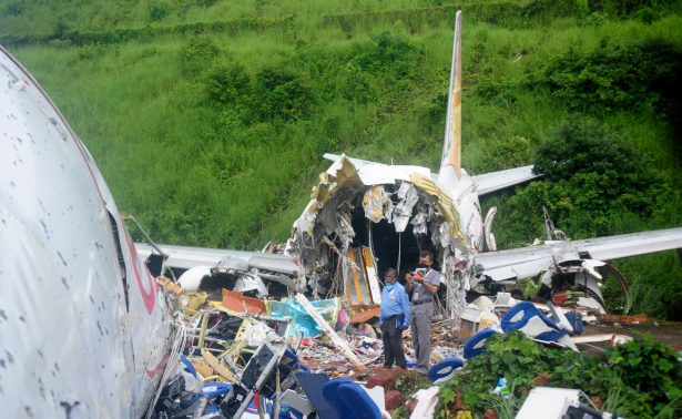 Indian crashed plane_officials