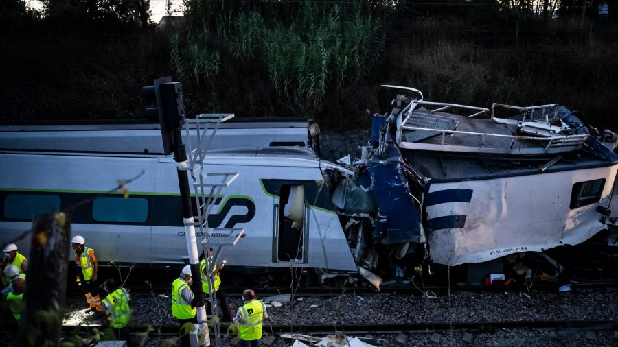 High-Speed Train Crash in Portugal Kills Two, Injures 37