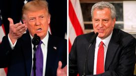 Trump Issues Warning to De Blasio After Weekend of Gun Violence in New York