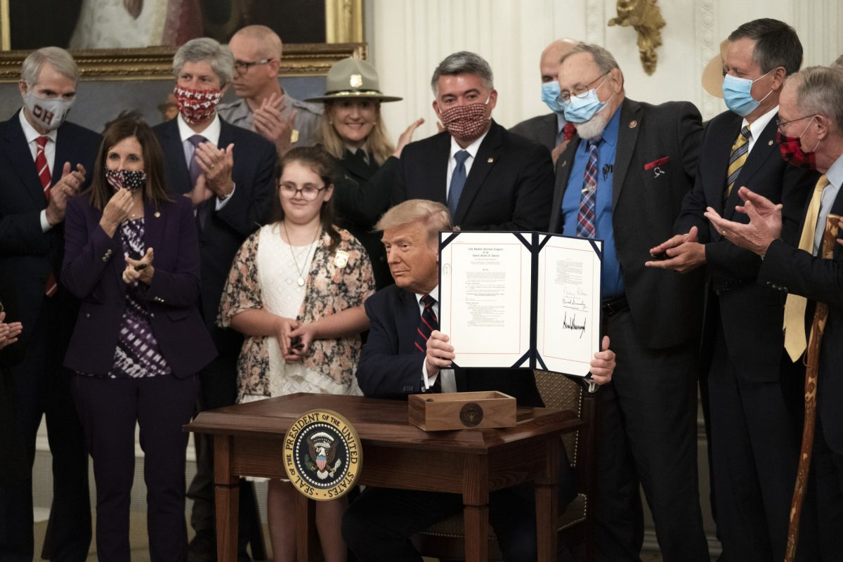 Trump signs the Great American Outdoors Act