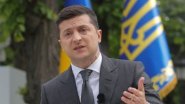 Ukraine President Says Kyiv Staying out of US Internal Politics, Elections