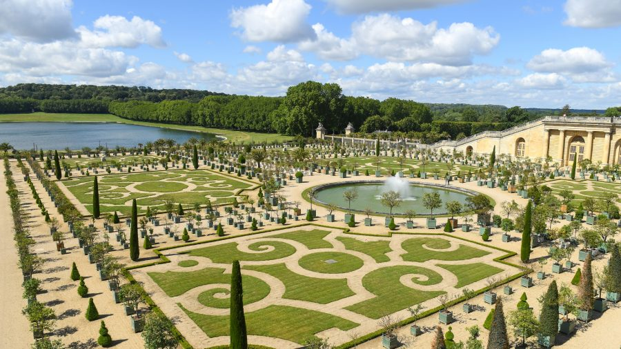 Relief From Heatwave: Versailles Garden