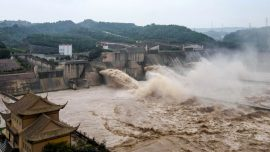 China In Focus (Aug. 7): Third Wave of Flooding Forms in the Yellow River