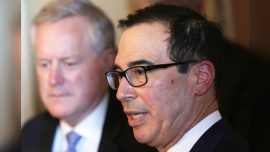 Mnuchin: No Deal by Friday Means no Deal