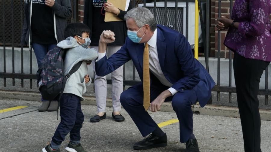 New York City Schools Begin Slowly Reopening