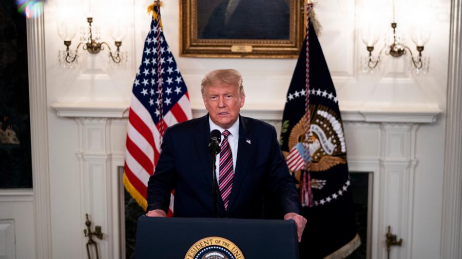 Trump Says CCP Virus Vaccine Coming in 'Weeks'