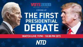 Programming Alert: First Presidential Debate Live Broadcast