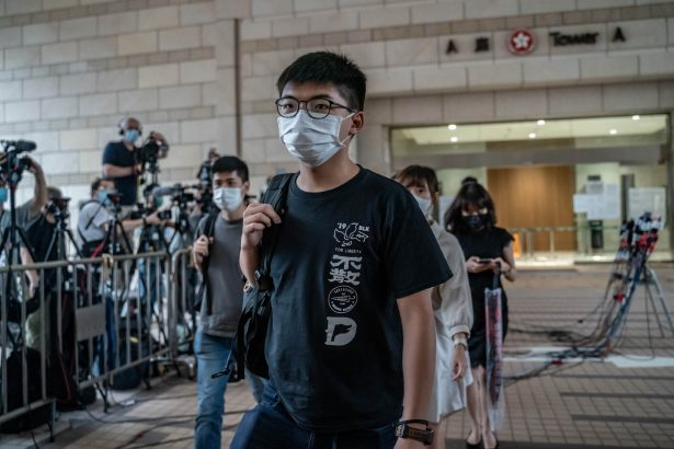 Hong Kong Pro-Democracy Activist Joshua Wong Arrested for 'Unlawful Assembly'