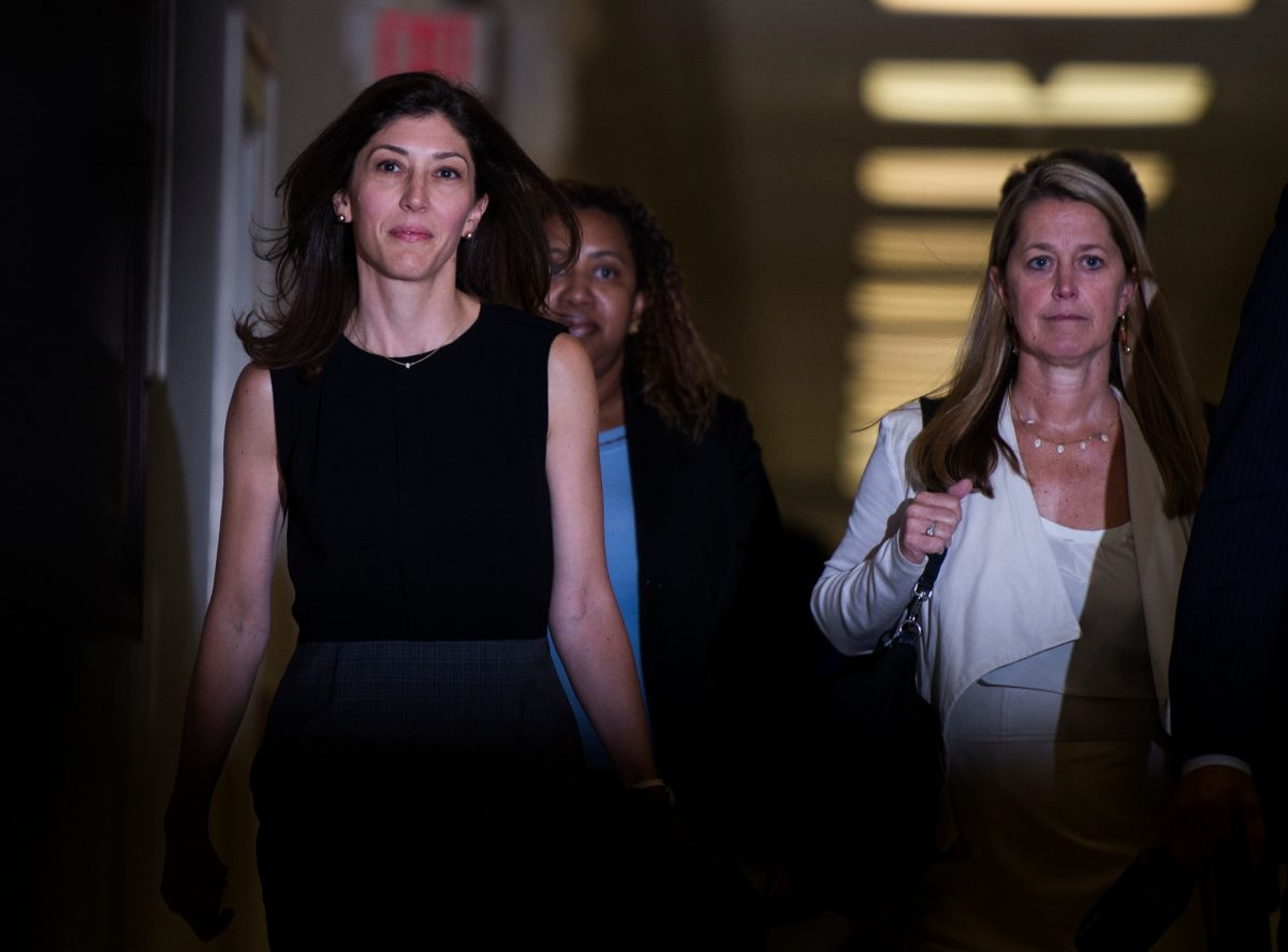 Lisa Page, former legal counsel to former FBI Director Andrew McCabe