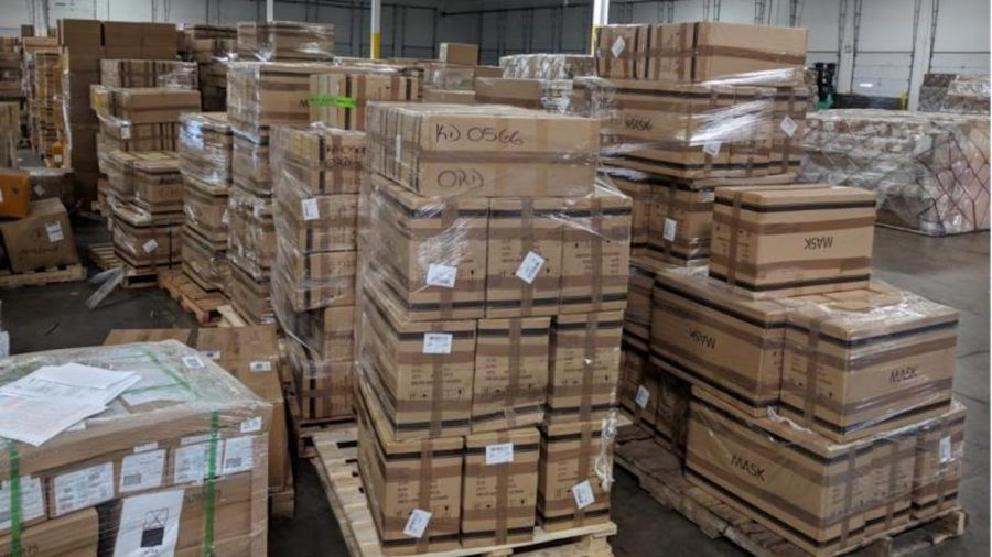 CBP Seizes 500,000 Counterfeit N95 Masks From China