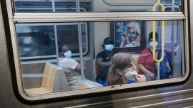 New York Subway Fines Riders Without Masks $50