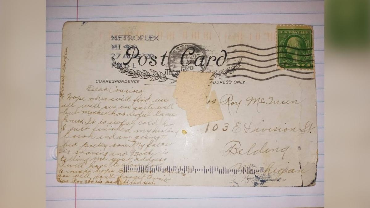 Old postcard 1920