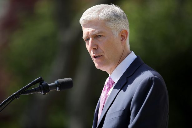 Supreme Court Associate Justice Neil Gorsuch