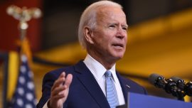 Biden Condemns Riot Violence, Lawlessness