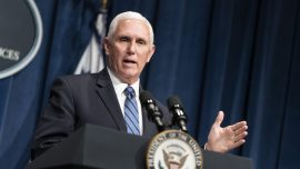 Pence Says Trump Has 'Obligation Under Constitution' to Name Supreme Court Nominee