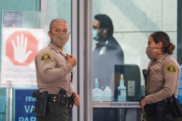 Los Angeles County Sheriffs Department deputies