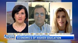 """America Is Talking (Oct. 12): The Cost of """"Free"""" Tuition; Pandemic Recovery: How Do We Get Out of This Mess"""