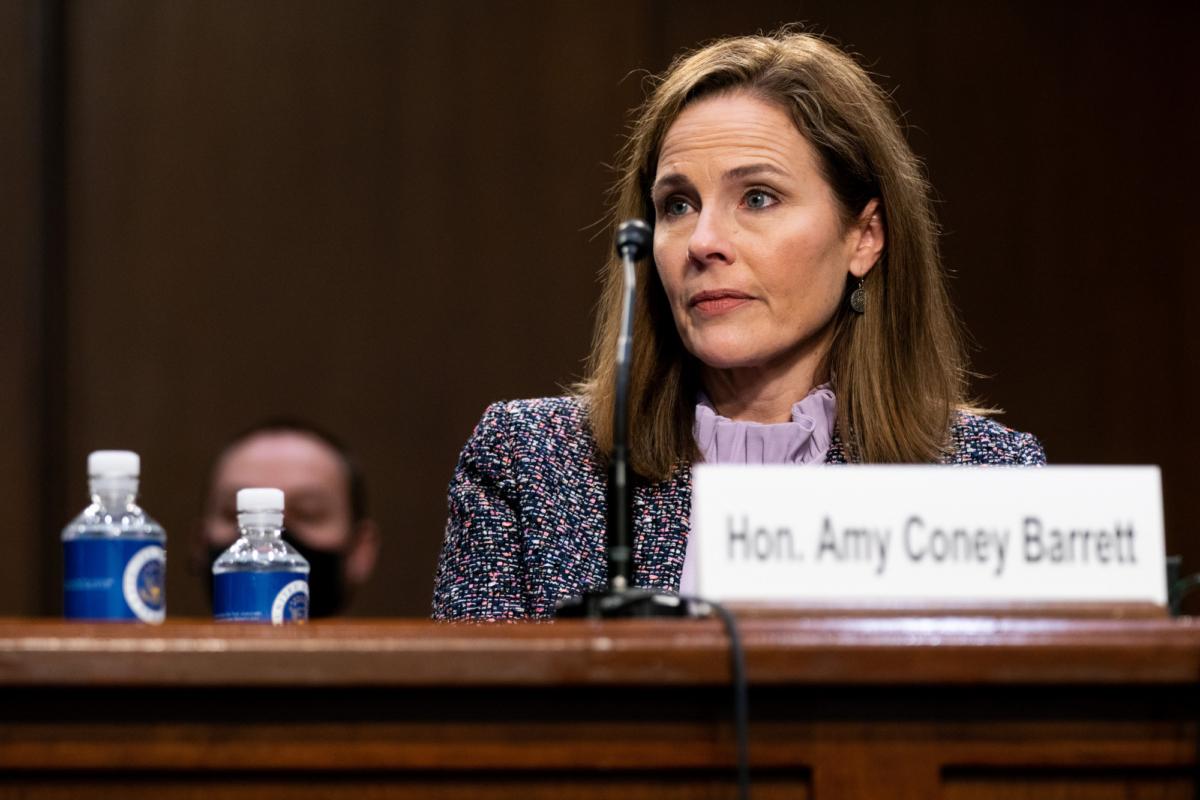 Supreme Court nominee Judge Amy Coney Barrett