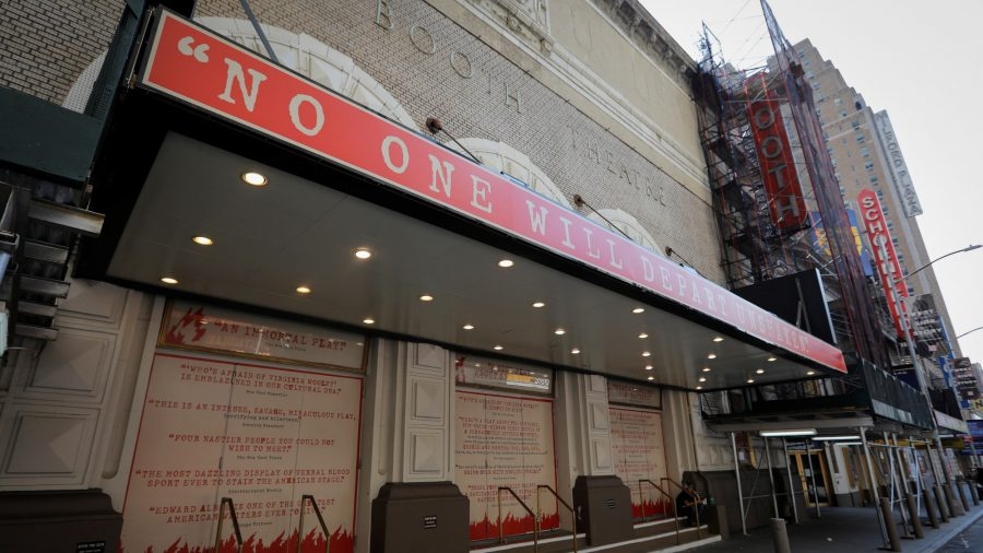 Broadway Theaters in NYC to Remain Closed Through Late May 2021