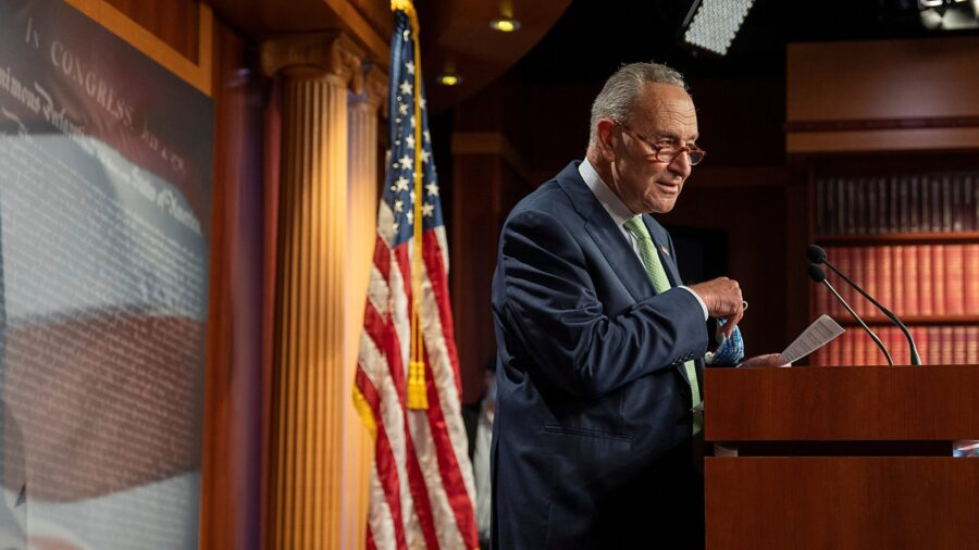 Republicans Reject Schumer's Motion to Adjourn Senate Until After Election