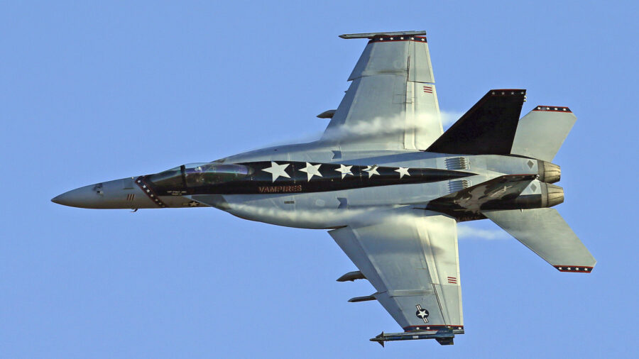 Navy Jet Crashes in California but Pilot Ejects Safely