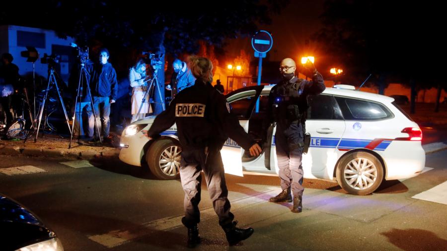 French Police Killed Man Who Slit Teacher's Throat