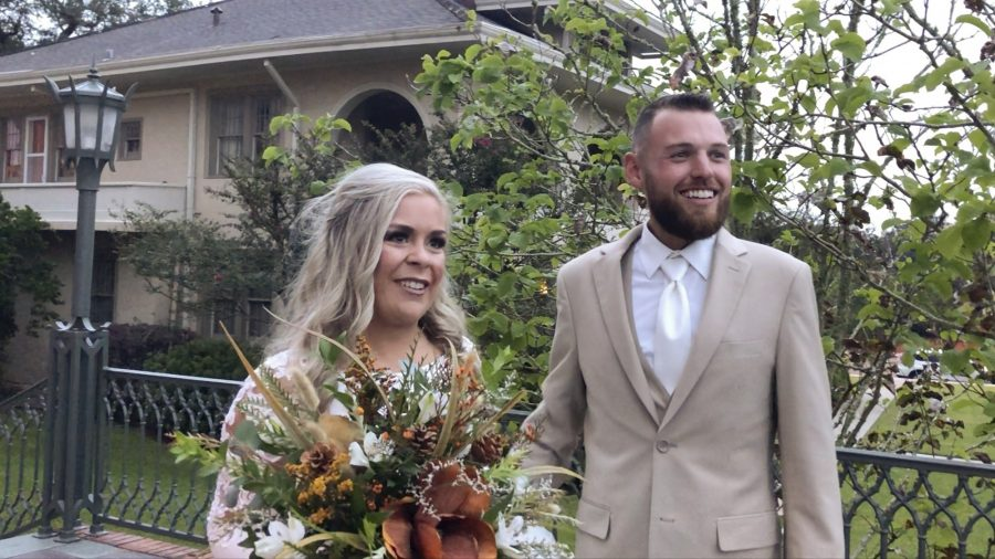 Wedding Before the Storm: Delta Speeds up Couple's Nuptials