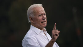Biden Makes Two Campaign Stops in Georgia