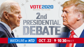 Programming Alert: Final 2020 Presidential Debate Between Trump and Biden